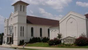 Friendship Baptist Church, historic site at 437 Mitchell Street