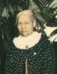 Mrs. Obedia Cecile Brown Carter